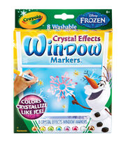 Crayola Disney FX Bold Line Markers-Frozen Colors 8/Pkg, , hi-res