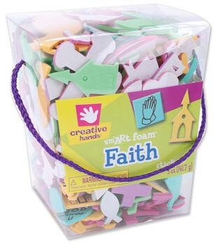 Fibrecraft Foam Stickers-Faith
