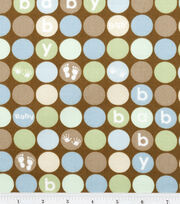 Nursery Fabric Oh Baby Detail Dot, , hi-res