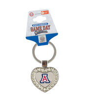 University of Arizona NCAA Heart Keychain, , hi-res