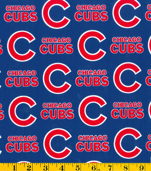 Chicago Cubs MLB Cotton Fabric