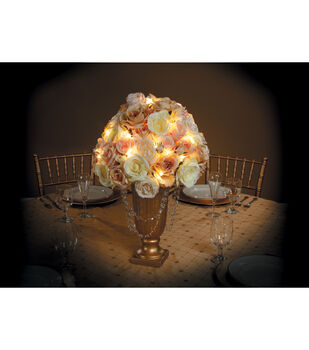 David Tutera Gold Wire Lights, 4.2 Ft.