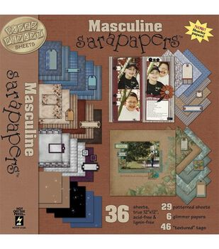 Hot Off The Press Masculine Sarapapers