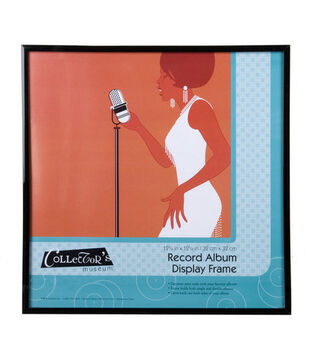 multipurpose record album frame