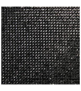 Dazzling  Resin Jewel Self Adhesive Sheet-Black