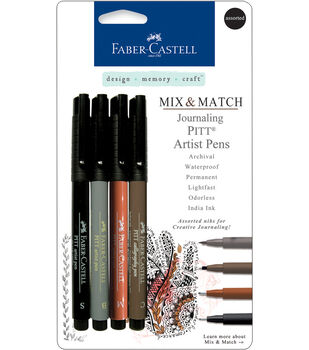 Faber-Castell design-memory-craft Mix & Match Pitt Artist Pens