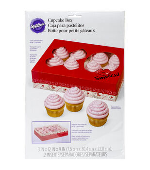 Wilton® Cupcake Bakery Box 1/Pkg-Spread Love, Sprinkle Kindness 12 Cavity