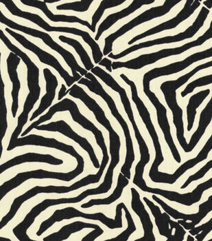 Waverly Upholstery Fabric-Wild Life/Onyx