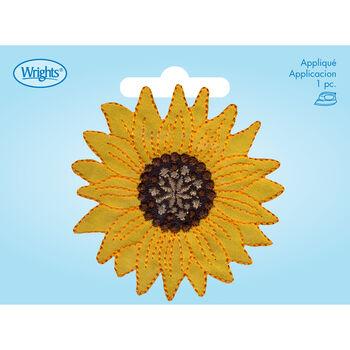Large Yellow Sunflower Iron-On