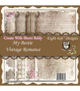 My-Besties Vintage Romance Single Sided Paper 6''x6''