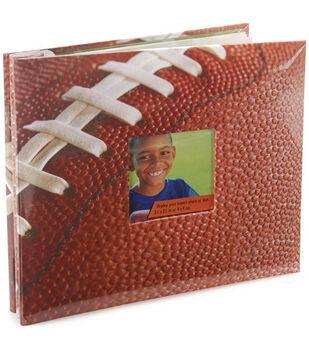 8''x8'' Postbound Album-Football