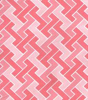 Keepsake Calico™ Cotton Fabric-Geometric Light Pink, , hi-res