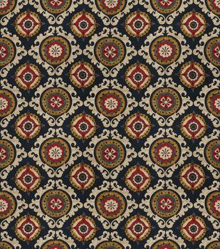 Smc Designs Upholstery Fabric-Alma/ Indigo
