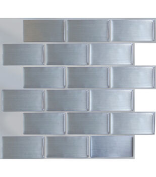Peel & Impress™ 4pk -Steel Subway