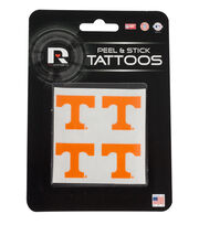 University of Tennessee NCAA Peel & Stick Tattoos, , hi-res