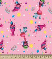 Trolls Poppy & Cooper Print Fabric, , hi-res