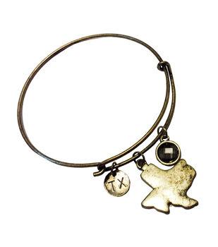 Finished Bracelet Texas - Brass Ox