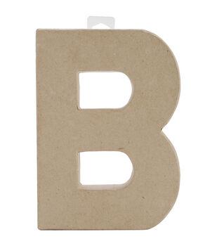 darice 8 paper mache letters 1pk