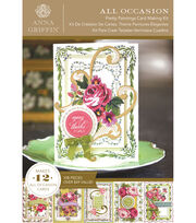 Anna Griffin Pretty Paintings Cardmaking Kit, , hi-res