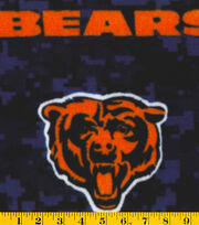Chicago Bears NFL Digital Fleece Fabric by Fabric Traditions, , hi-res