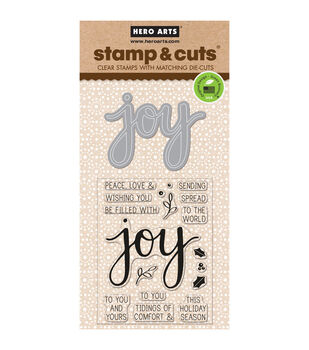 Hero Arts® Joy Stamp & Cuts