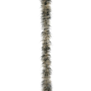 Medium Weight Marabou Boa Coffee and Cream Mix, 2 yards
