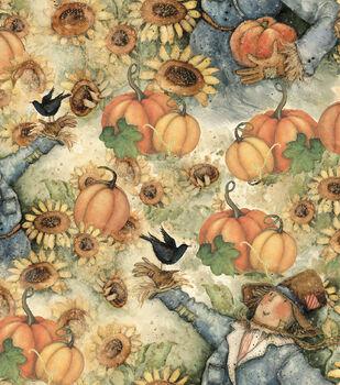 Susan Winget Harvest Cotton Fabric-Sunflower Fields