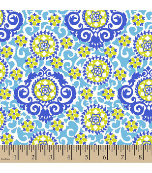 Snuggle Flannel Fabric-Packed Medallions