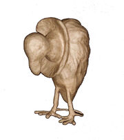Fab Lab™ Paper Mache Standing Vulture, , hi-res