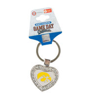University of Iowa NCAA Heart Keychain, , hi-res