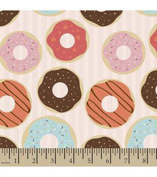 Snuggle Flannel Fabric-Donut Shop