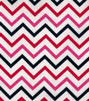 Keepsake Calico™ Cotton Fabric-Chevron Navy, , hi-res