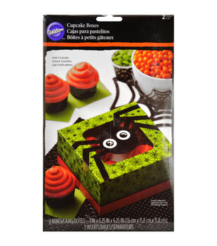 Wilton® Cupcake Boxes-Jack & Ghoul Spider