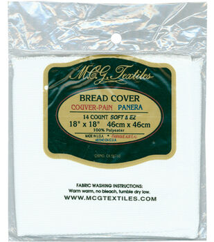 M C G Textiles Continental Bread Covers 14 Count 18'' x 18''