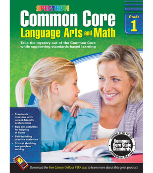 Spectrum Common Core Language Arts And Math Book Grade 1