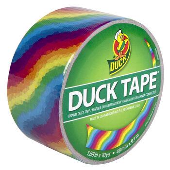 Duck Tape-Rainbow 10Yds
