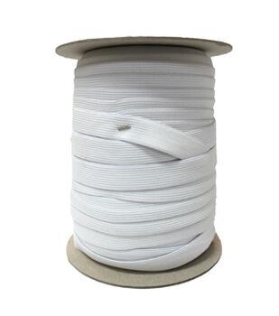 """Pellon® 3/8"""" x 144yd Spool  Knit Elastic- White"""
