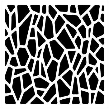 Crafter's Workshop Templates Giraffe Print