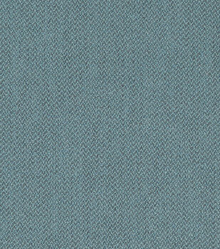 Crypton Upholstery Fabric-Herringbone Blue Bill