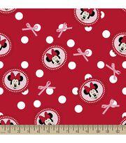 Disney® Minnie Mouse Print Fabric-Polka Dots, , hi-res