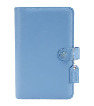 Webster's Pages Color Crush Personal Planner Leather 6-Ring A2 Binder