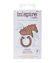 Spellbinders Shapeabilities In'spire Lucky Horse Die, , hi-res