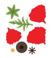 Spellbinders Shapeabilities Die Poppy D-Lites, , hi-res