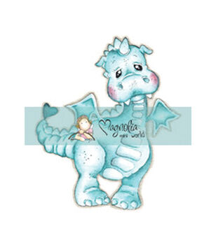 Magnolia Mini Princes & Princesses Stamp Lillyrose The Dragon