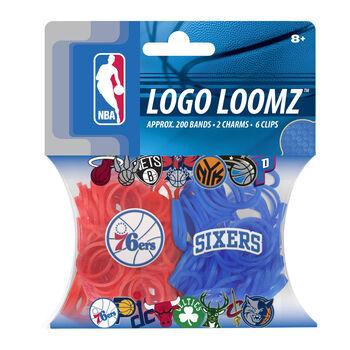 Forever Collectibles Logo Loomz Filler Pack Philadelphia 76ers