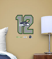 Seattle Seahawks NFL 12 Teammate Logo, , hi-res