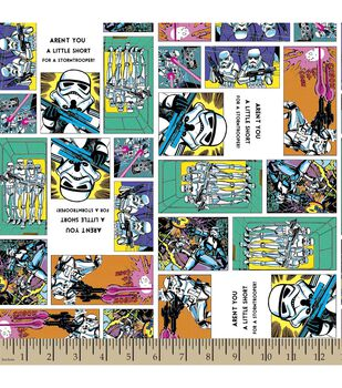 Star Wars™ Print Fabric-Stormtroopers