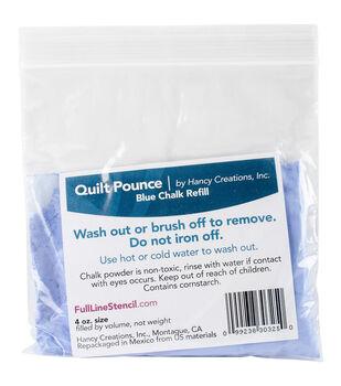 Quilt Pounce Two 4oz Blue Chalk Powder Refills