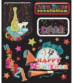Sticker Medley-New Years