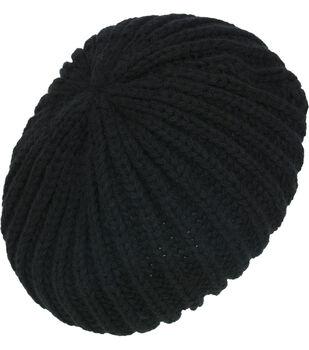 Laliberi Winter Knit Ivory Crochet Beanie